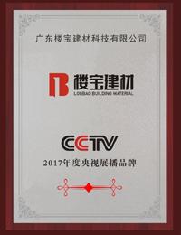 2017年度央視展播品牌